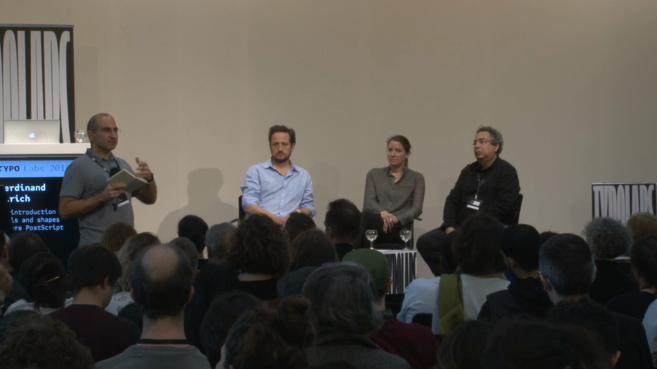 Panel Discussion: Tools and shapes