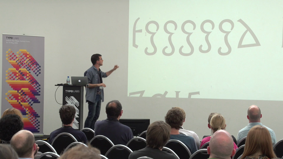 Font Gamification with Rainer Erich Scheichelbauer