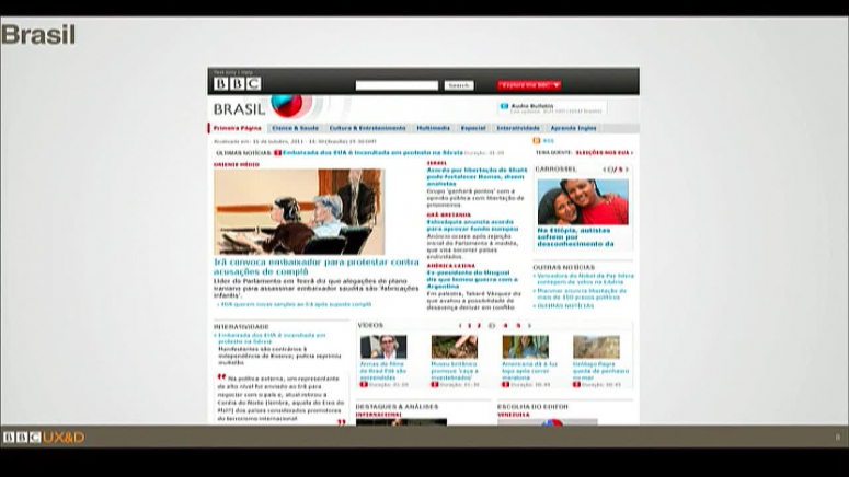 BBC's Global Experience Language in 27 languages and 9 scripts